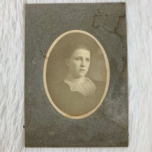Other - Antique Victorian/Edwardian Teen Cabinet Card